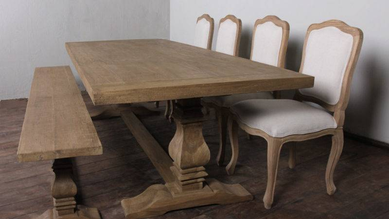 Foot Dining Table Inch Farmhouse