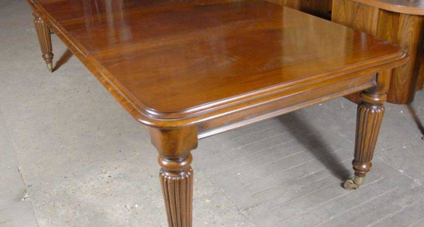 Foot Victorian Extending Dining Table