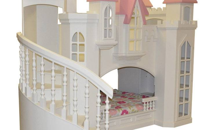 Fordell Castle Bunk Bed Curved Staircase Bookshelves