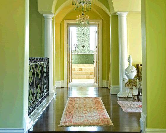 Foyer Designer Shelly Riehl David Lime Green Hgtv