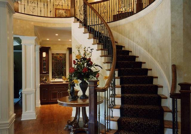 Foyer Photos Custom House Plans Studer Residential