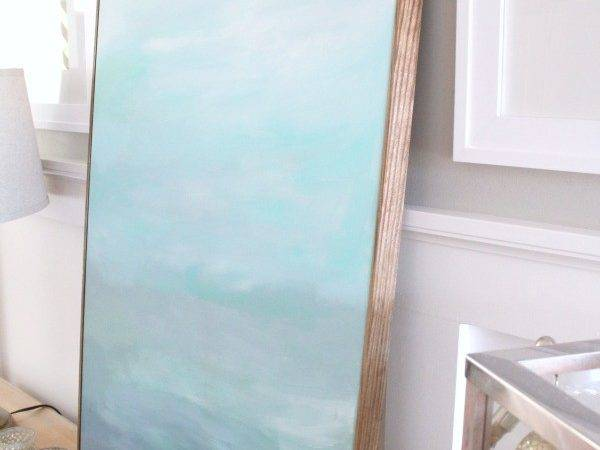 Frame Canvas Cheap Turquoise Home