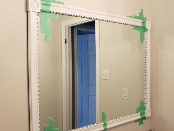 Frame Out Builder Grade Mirror Easy