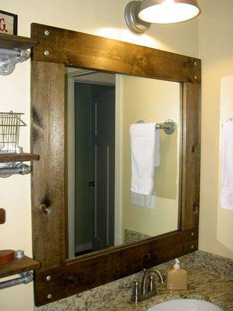 Framed Bathroom Mirrors Best Way Give Unique Character