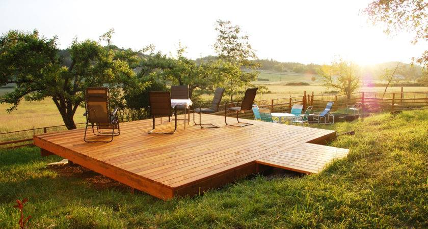 Freestanding Deck Why Would Want One