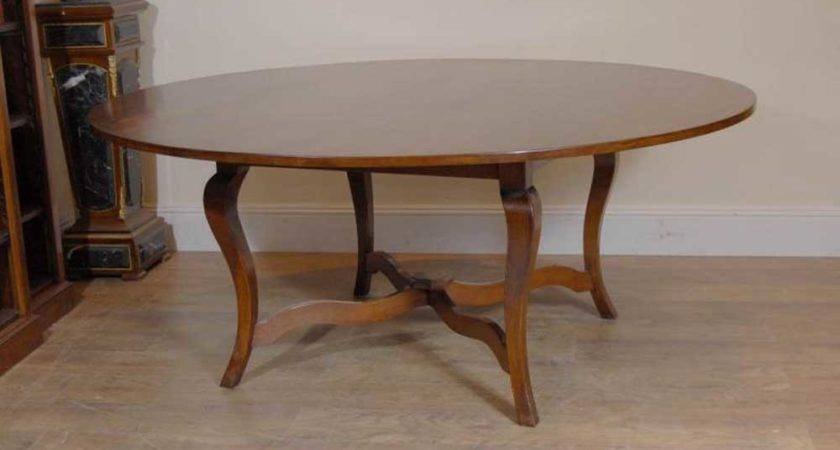 French Cherry Wood Farmhouse Table Kitchen Diner Antique