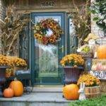 Front Porch Decorating Ideas Fall Ultimate Home