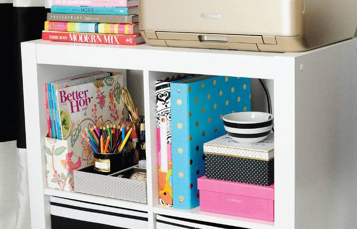 Functional Chic Office Storage Ideas Giveaway