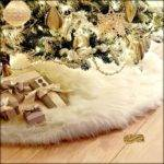 Fur Accents Christmas Decoration Shaggy Faux