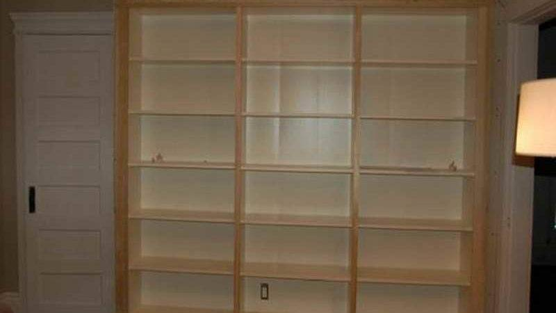Furniture Built Small Bookcase Plans Media