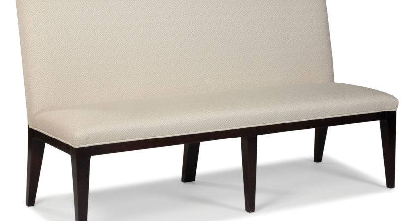 Furniture Fashionable Upholstered Dining Bench Back