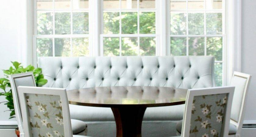 Furniture Kitchen Banquettes Curved Bench