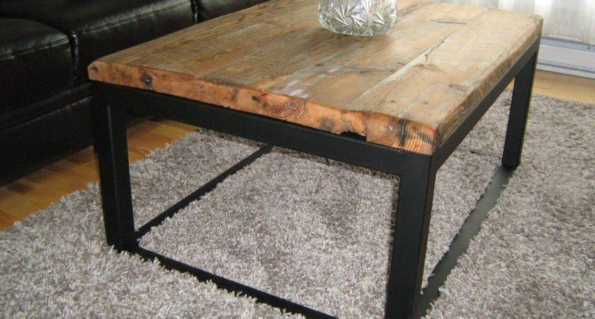 Furniture Rectangle Dark Brown Wooden Coffee Tables