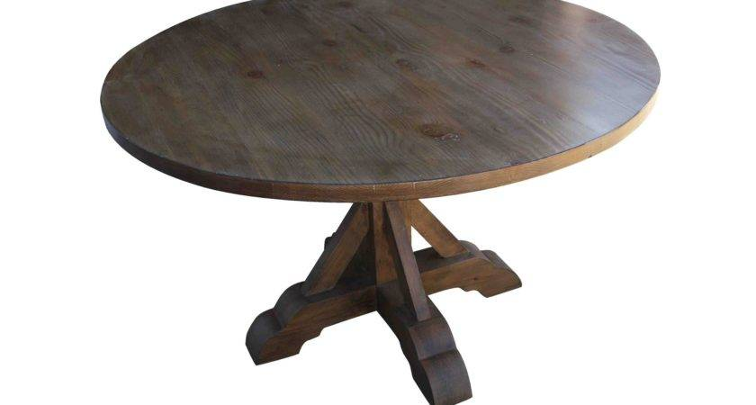 Furniture Remarkable Reclaimed Wood Round Dining Table