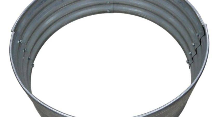 Galvanized Round Fire Ring Vgdhd Home Depot
