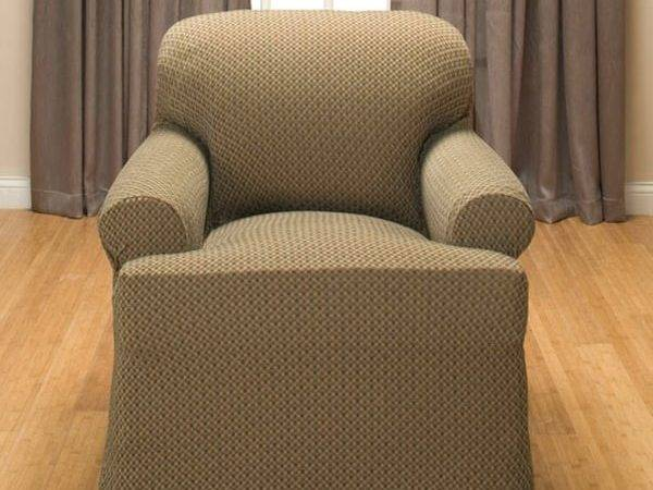 Galway Cushion Stretch Chair Slipcover