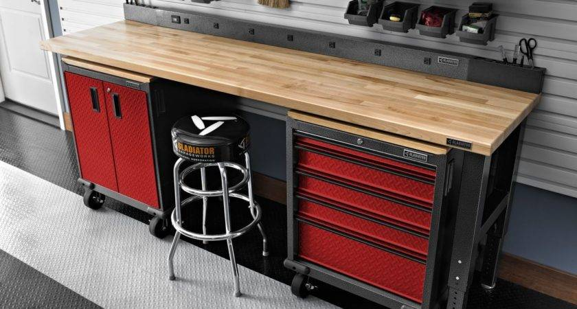 Garage Workbench Organization Storage Design