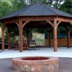Gazebo Fire Pit Plans Pergola Ideas