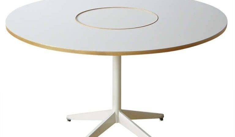 George Nelson Lazy Susan Dining Table Stdibs