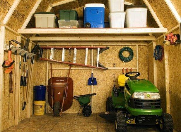 Get Done Overhaul Organize Your Garden Shed