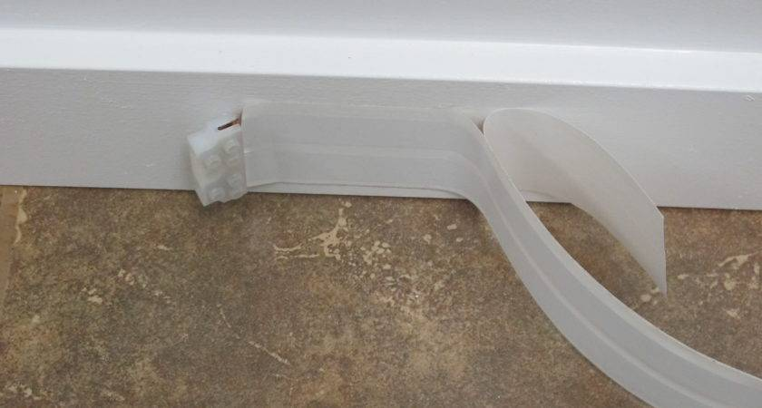 Ghost Wire Can Run Wall Baseboards Even