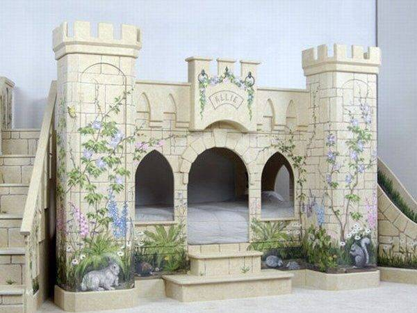 Girls Castle Beds Native Home Garden Design