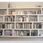 Glamorous Hanging Wall Bookshelves Home Designs