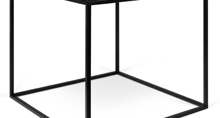 Gleam Black Marble Modern Side Table Temahome Eurway