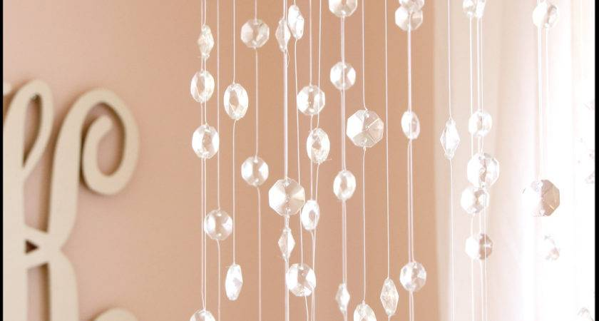 God Bless Our Nest Diy Crystal Baby Mobile