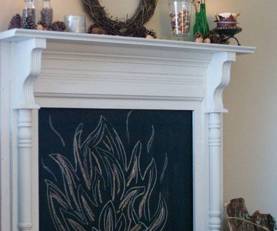 Gorgeous Diy Faux Fireplaces Poetic Home
