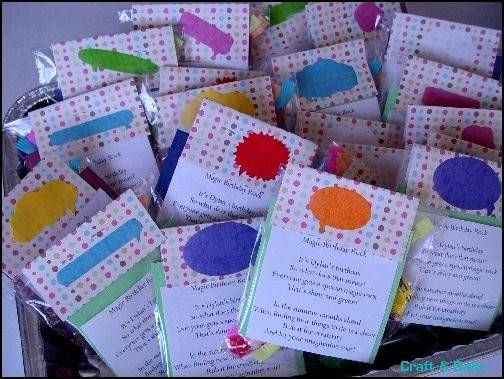 Got Chicago Ask Planner Kids Party Favors