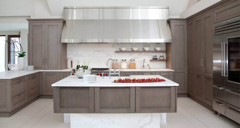 Gray Kitchen Home Design Decorating Ideas