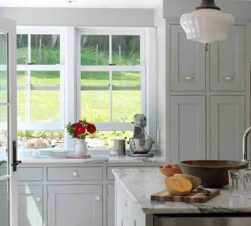 Gray Painted Cabinets Ideas Remodel Decor