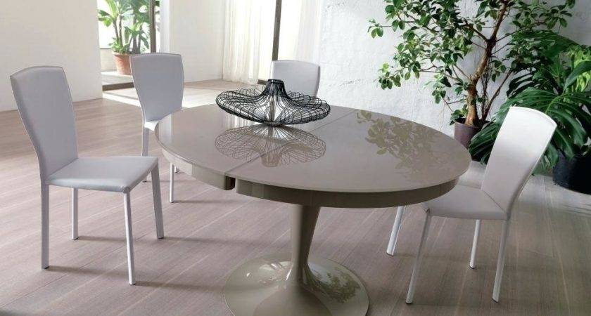 Gray Wash Dining Table White Trestle Round