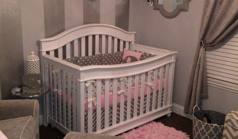 Gray White Pink Nursery Project