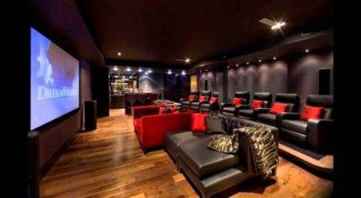 Great Ideas Movie Room Cor Unique Hardscape Design