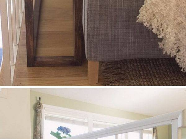 Great Ways Make Space Behind Couch