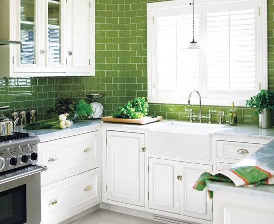 Simple Green And White Kitchen Placement Gabe Jenny Homes