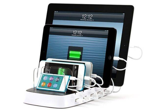 Griffin Started Selling Charging Station Five Iphone