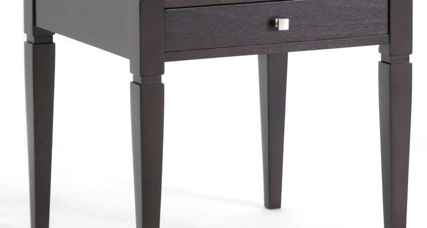 Haley Wood Modern End Table Wholesale Interiors Side