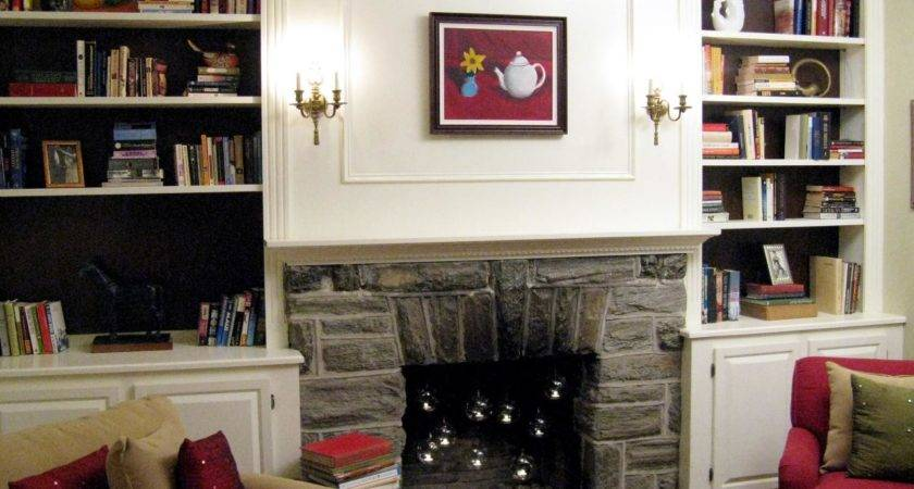 Half Day Designs Fireplace Bookshelves Hgtv