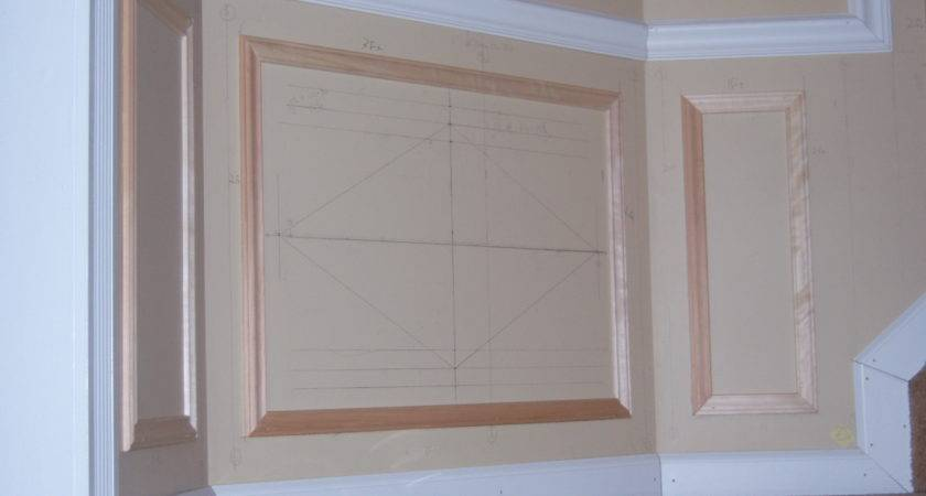 Hall Stairway Trim Work Low Maintenance Shadow Boxes