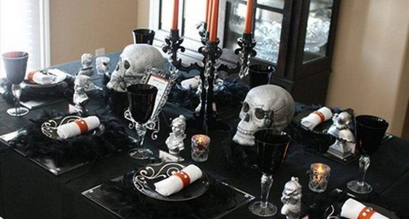 Halloween Wedding Table Decoration Ideas Top