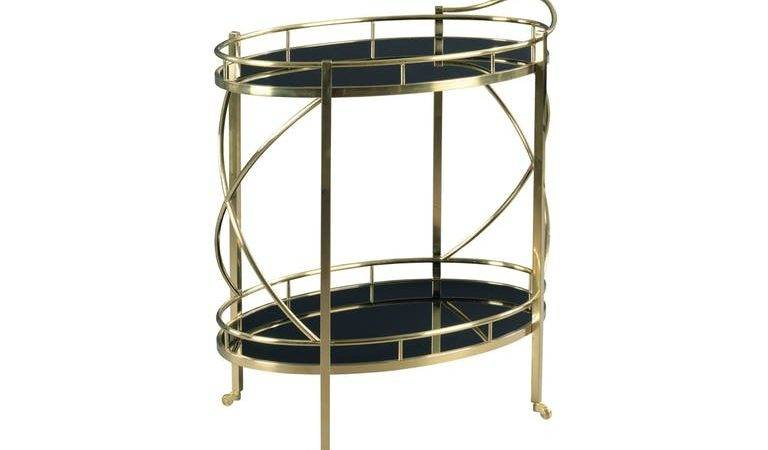 Hammary Accessories Rolling Bar Cart Lauters