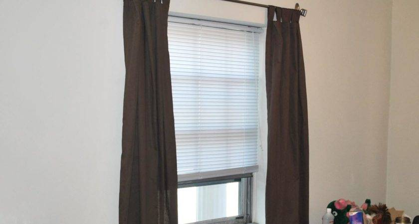 Hang Curtains Without Making Holes Wall