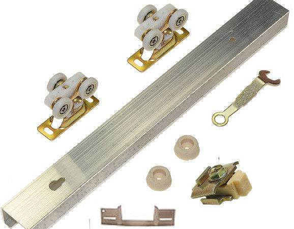 Hanging Sliding Door Hardware Bottom Rolling