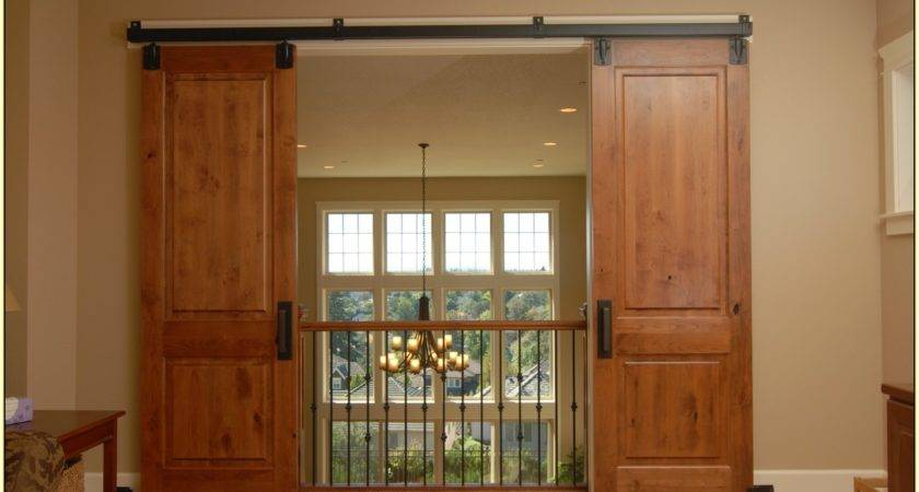 Hanging Sliding Doors Home Design Ideas