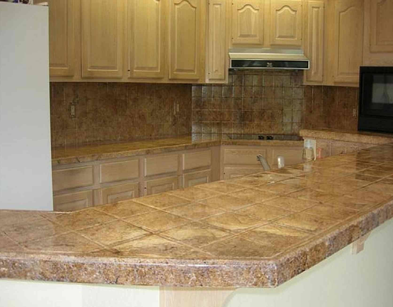 How To Tile Countertop 21 Photo Gallery Gabe Jenny Homes