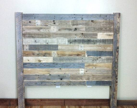 Headboard Pallet Furniture Reclaimed Barn Wood