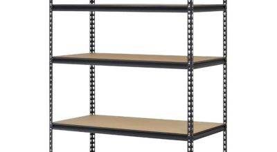 Heavy Duty Storage Level Adjustable Shelves Garage Steel